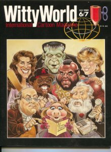 Witty World #6/7 1989-International Cartoon Magazine-double issue-Phil Yeh-FN