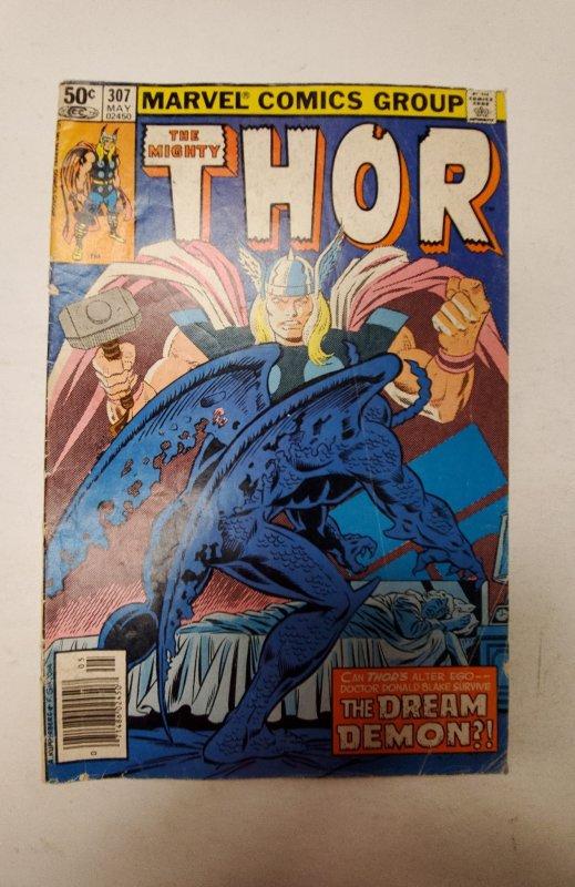 Thor #307 (1981) Marvel Comic Book J667