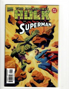 The Incredible Hulk Vs. Superman Marvel / DC Comic Book NM 1st Print # 1 HR8