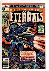 ETERNALS(KIRBY,1976) 11 VF 8.0;1st APP DRUIG;+ 1st KINGO SUNEN