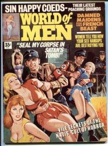 World of Men November 1969- Nazi terror cover- Cult of Horror