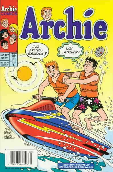 Archie #487 VF/NM; Archie | save on shipping - details inside