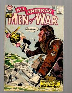 All American Men Of War # 86 VG DC Silver Age Comic Book Navajo Air Pilot JK7