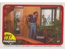 1983 Donruss MAGNUM P.I. #22