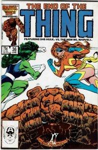 Thing #36 (1983 v1) Ms Marvel She-Hulk NM-