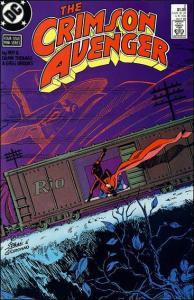 DC THE CRIMSON AVENGER #2 NM-