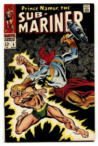Sub-mariner #4 1968-marvel Comic Silver-Age VF