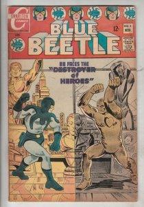 Blue Beetle #5 (Nov-68) VG Affordable-Grade Blue Beetle