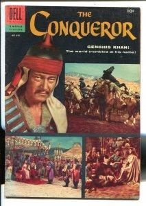 The Conqueror-Four Color Comics #690 1956- John Wayne as Genghis Khan- Dell M...