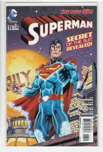 SUPERMAN (2011 DC) #11 NM-