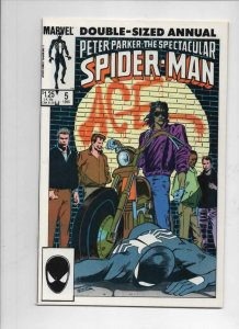 Peter Parker SPECTACULAR SPIDER-MAN #5 Annual, VF/NM, 1976 1985 more in store
