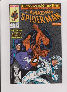 the AMAZING SPIDER-MAN #321 NM UNREAD 1989 MARVEL TODD McFARLANE  ART