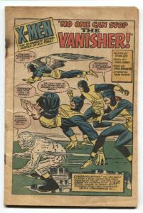 X-MEN #2 comic book 1963-MARVEL COMICS-bargain issue-1ST VANISHER