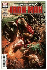 Tony Stark Iron Man #9 (Marvel, 2019) NM