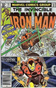 Iron Man #151 (Sep-81) VF High-Grade Iron Man