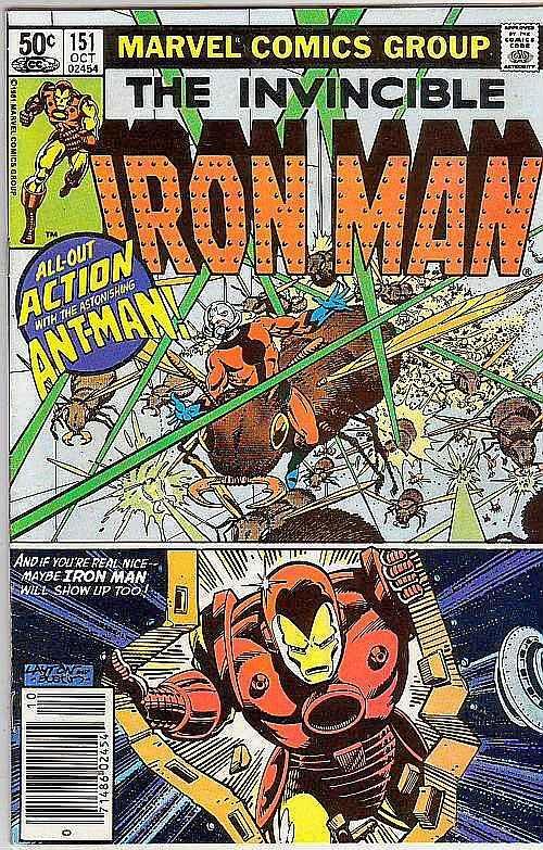 Iron Man #151 (Sep-81) VF High-Grade Iron Man / HipComic