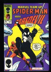 Marvel Team-up #141 FN+ 6.5 1st Black Costume!