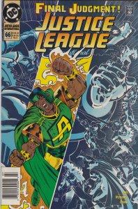 DC Comics! Justice League America! Issue 66!