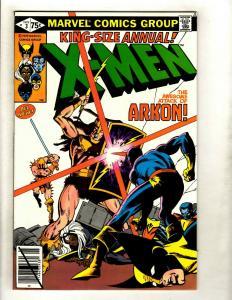 Lot Of 5 Uncanny X-Men Marvel Comic Books ANNUALS # 3 4 5 6 7 Wolverine GK4