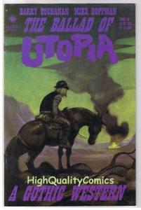 BALLAD of UTOPIA 2, NM, Gothic Western, Mike Hoffman, 2000, more indies in store