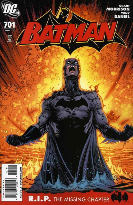Batman #701 VF/NM; DC | save on shipping - details inside