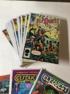Elfquest 1-25 Missing 14,22,23 Alao Siege At Blu Mountain 1 2 3 Nm