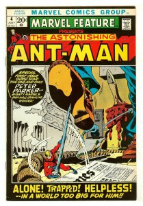 Marvel Feature 4   Re-Intro Ant-Man