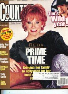 Country Weekly-Reba McEntire-Blake Shelton-Billy Ray Cyrus-Feb-2001