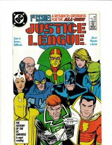 Lot of 12 Justice League DC Comic Books #1 2 3 4 5 6 7 8 9 10 11 12 JF25