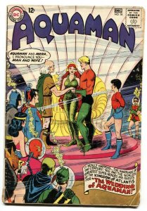Aquaman #18 MERA WEDDING ISSUE-comic book 1964 Silver Age DC