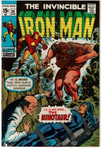 Iron Man #24,4.0 or Better