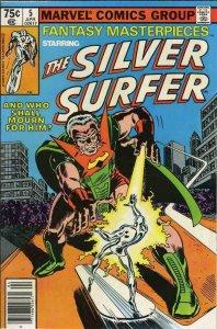 FANTASY MASTERPIECES #5, VF+, Silver Surfer, 1979 1980, Buscema, Sinnott, Marvel