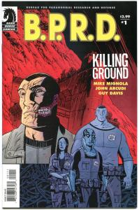 B P R D Killing GROUNDS #1 2 3 4 5, VF/NM, Mike Mignola, 2007, more MM in store