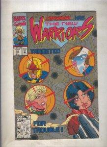 The New Warriors volumen 1 numero 035 (1993)