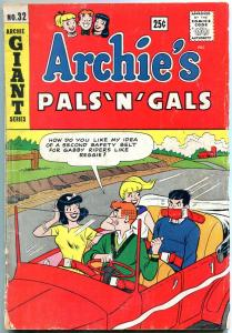 Archie's Pals 'n' Gals #32 1965-Giant series-Betty and Veronica