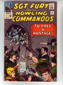 Sgt. Fury and His Howling Commandos #21 (Aug-65) FN+ Mid-Grade Sgt. Fury, Dum...