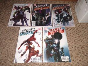 SECRET INVASION #4,#5,#6,#7,#8 NM CONDITION