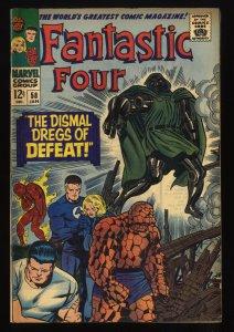 Fantastic Four #58 FN- 5.5 Marvel Comics