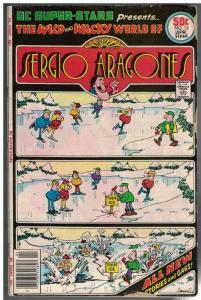 DC SUPER STARS 13 G-VG April 1977 Sergio Aragones