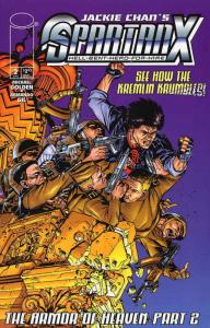 Spartan X: Hell-Bent-Hero-For-Hire (Jackie Chan's…) #2 FN; Image | save on shipp