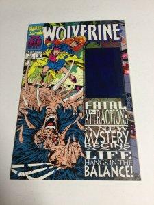 Wolverine 75 Nm Near Mint Marvel
