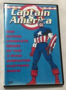 Captain America 1966 series, DVD, 39 episodes
