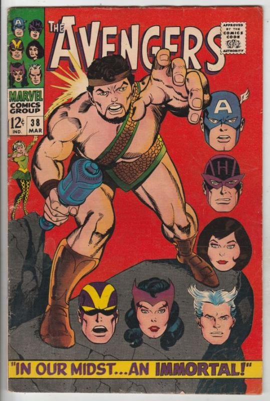 Avengers, The #38 (Jan-66) FN/VF Mid-High-Grade Avengers