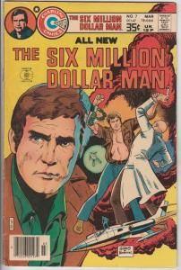 Six Million Dollar Man #7 (Mar-78) VF High-Grade Col. Steve Austin