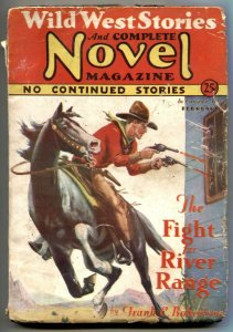 Wild West Stories & Complete Novel Pulp February 1931
