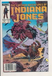 Further Adventures of Indiana Jones #21 Fine+ (6.0) Marvel Comics (505J)