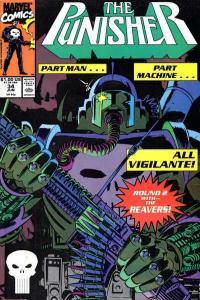 Punisher (1987 series) #34, NM- (Stock photo)
