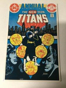 New Teen Titans Annual 2 Nm Near Mint First 1st Vigilante Dc