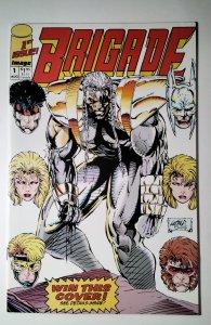 Brigade #1 (1992) Image Comic Book J756