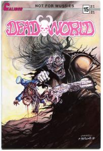 DEADWORLD #14 and #15,  VF/NM, Horror, Gore, Undead, 1986, more Zombies in store
